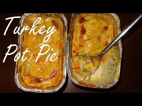 Turkey Pot Pie - Leftover Turkey Recipes