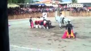 Muere TORERO en corrida de Seyba playa