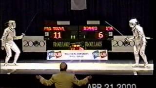 2000 Jr World Fencing Championships, Women