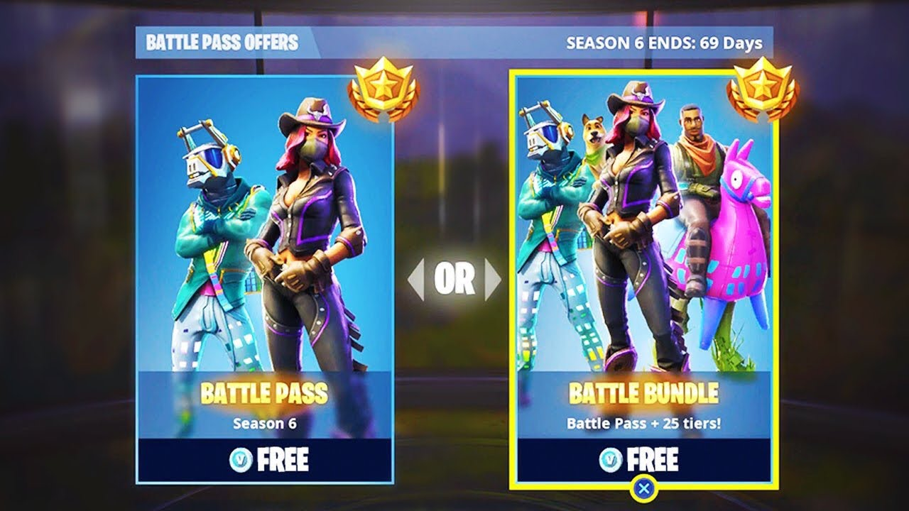 how to get free battle pass fortnite