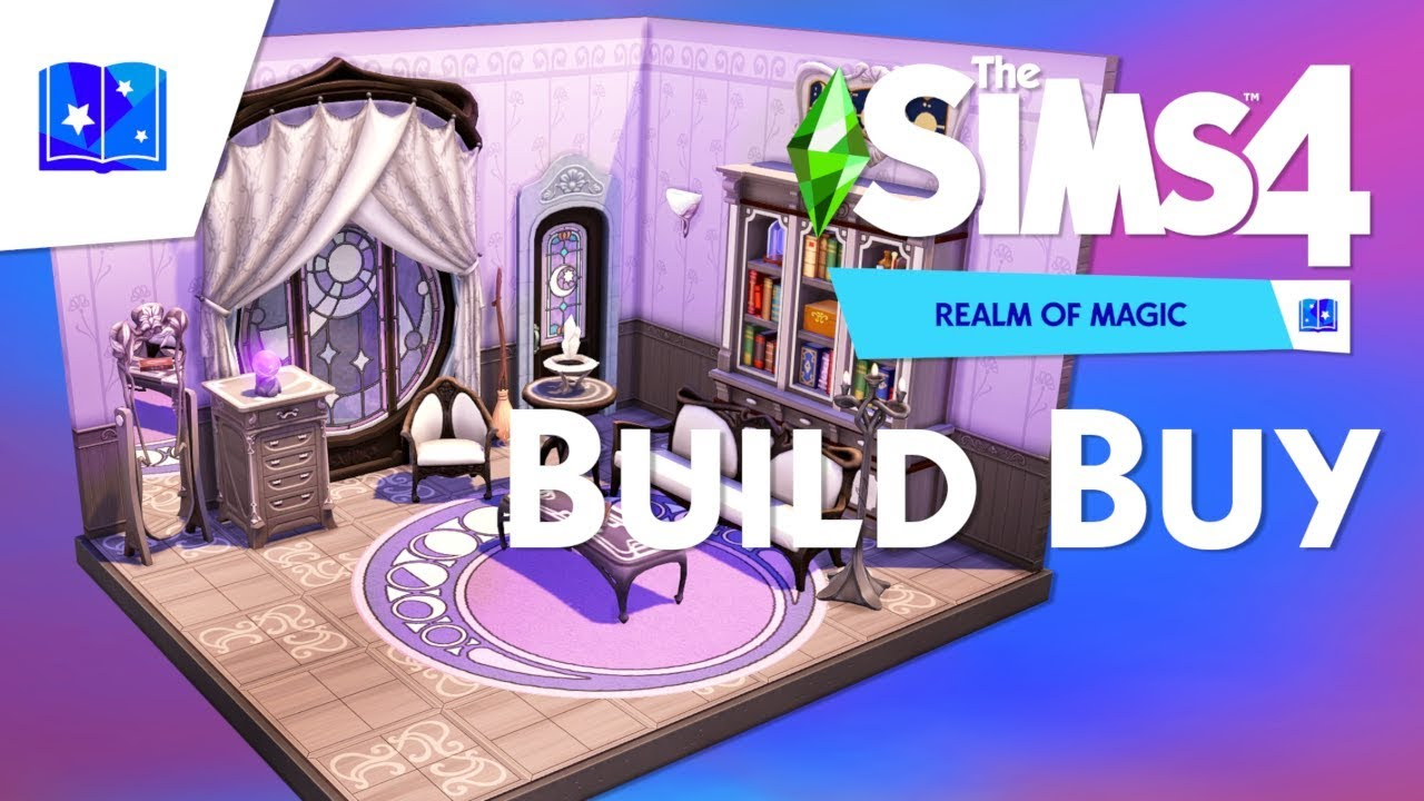 THE SIMS 4 Realm of Magic Build/ Buy Overview