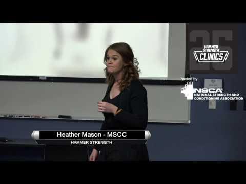 2017 West Regional Elite Hammer Strength Clinic - Heather Mason