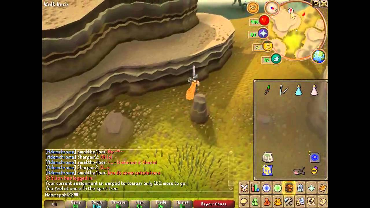 Runescape Slayer Guide Warped Tortoises Hd Youtube