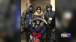 Patriots CEO helps fan after her wheelchair was stolen during Saturday