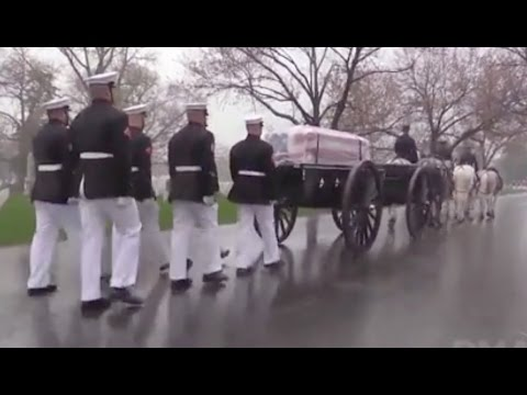 John Glenn Funeral With Full Military Honors