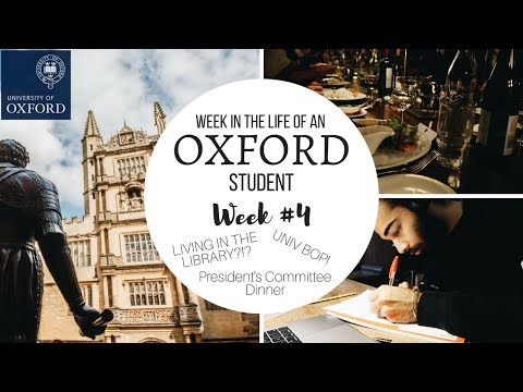 FOURTH WEEK IN THE LIFE OF AN OXFORD STUDENT | THIS IS MANI
