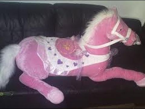Giant Pink Horses 5 30 10 131 Youtube