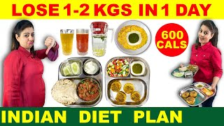Want to lose weight fast now ? 1 kg -2kg a day with simple & easy indian diet plan \ meal full of eating .in this vegetarian p...