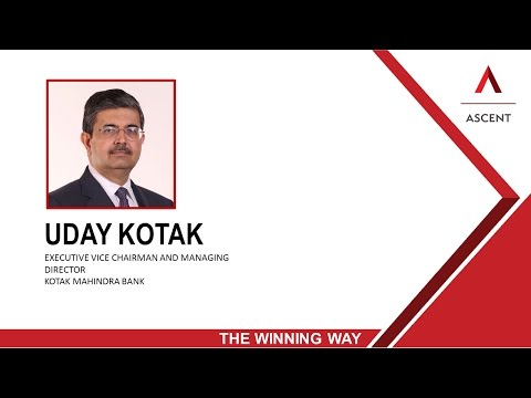 Uday Kotak on The Winning Way - ASCENT CONCLAVE 2016