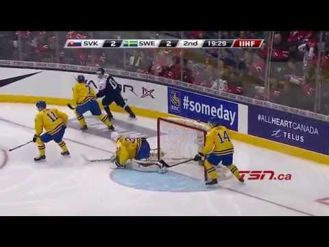 Sweden vs. Slovakia (Bronze Medal Game) IIHF WJC 2015 (5/1/2015)