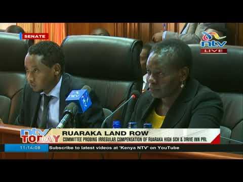 Senate PAIC questions Lands CS Karoney on Ruaraka land controversy