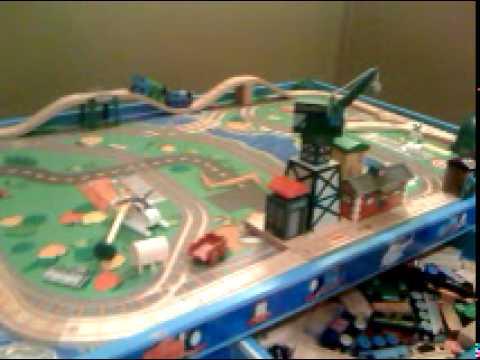& Thomas The Tank Engine Train Track Table Setup #2 - YouTube