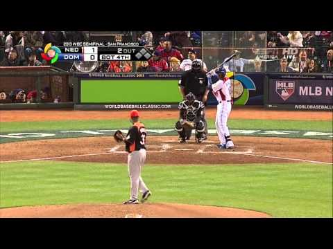 WORLD BASEBALL CLASSIC 2013 3/18/13 Semifinal NETHERLANDS VS