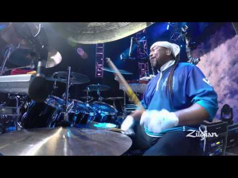 Zildjian Performance - Carter Beauford plays