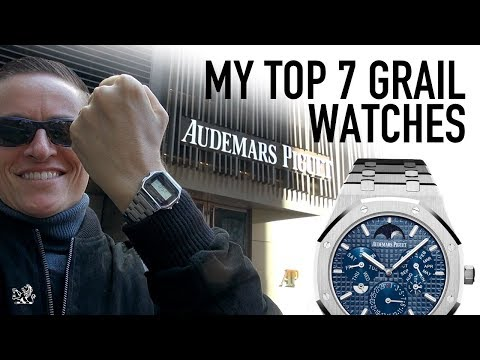 Visiting Audemars Piguet NYC Wearing A Casio - My Top 7 Bucketlist Grails + Watch Giveaway