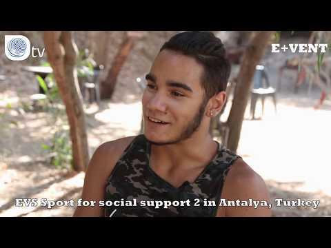 E+VENT   EVS Sport for social support 2 in Antalya, Turkey