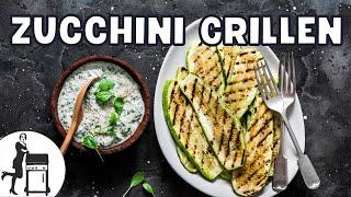 Zucchini grillen – aber richtig bitte