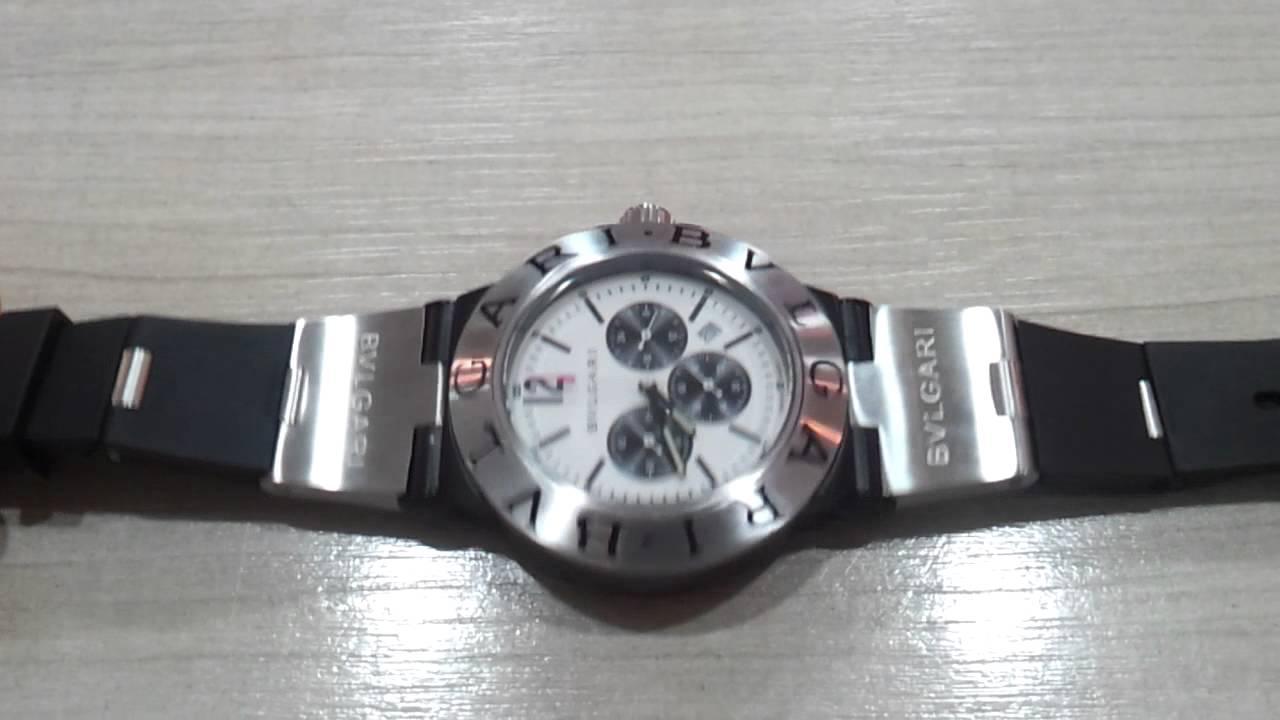 9fb6c5605d9 Bvlgari Diagono Professional Lindo Relógio - YouTube