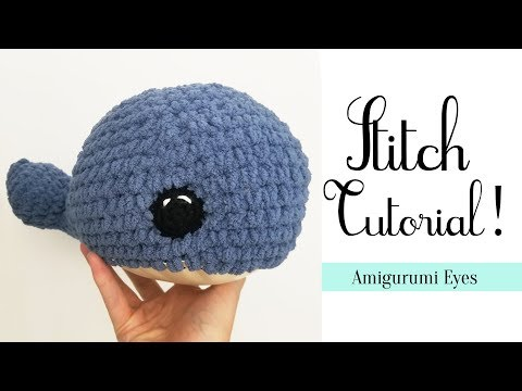 How to Make Amigurumi Cuter with Perfect Eye Placement   Lion ...   360x480