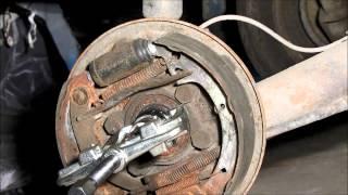 видео ступица заднего колеса ваз 2108