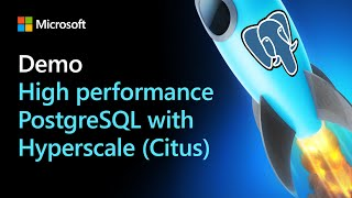 DEMO - High performance HTAP with Postgres & Hyperscale (Citus)