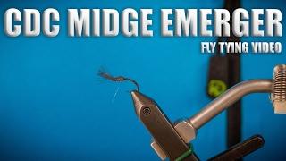 cdc midge emerger fly tying video instruction