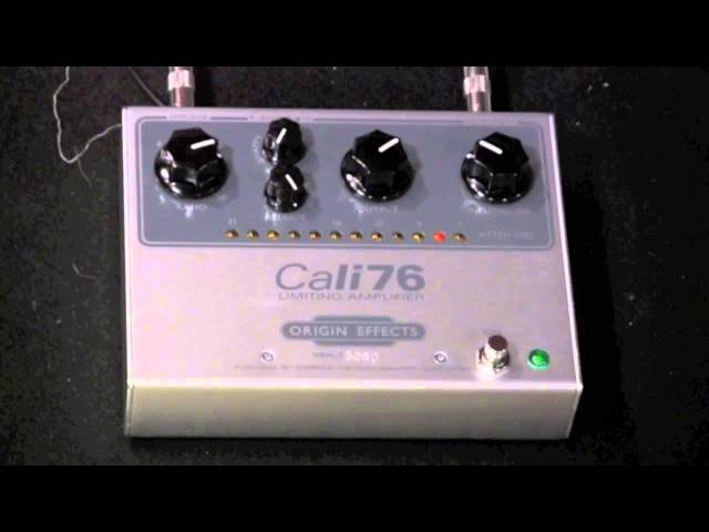 Origin Effects CALI 76 Limiting Amplifier top shelf studio quality compressor in a pedal