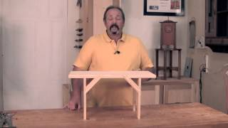 Shaker Stool - Introduction