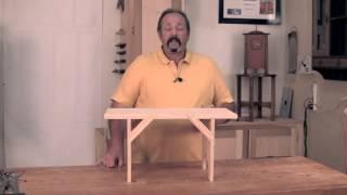 Shaker Stool - Introduction