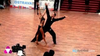 Vladimir Karpov - Maria Tzaptashvilli, WDSF PD Latin World Championship 2013, semifinal - rumba
