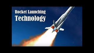 Rocket Launching Spaceship into Space