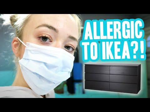 WORST ALLERGIC REACTION & IKEA DIY  Meghan McCarthy