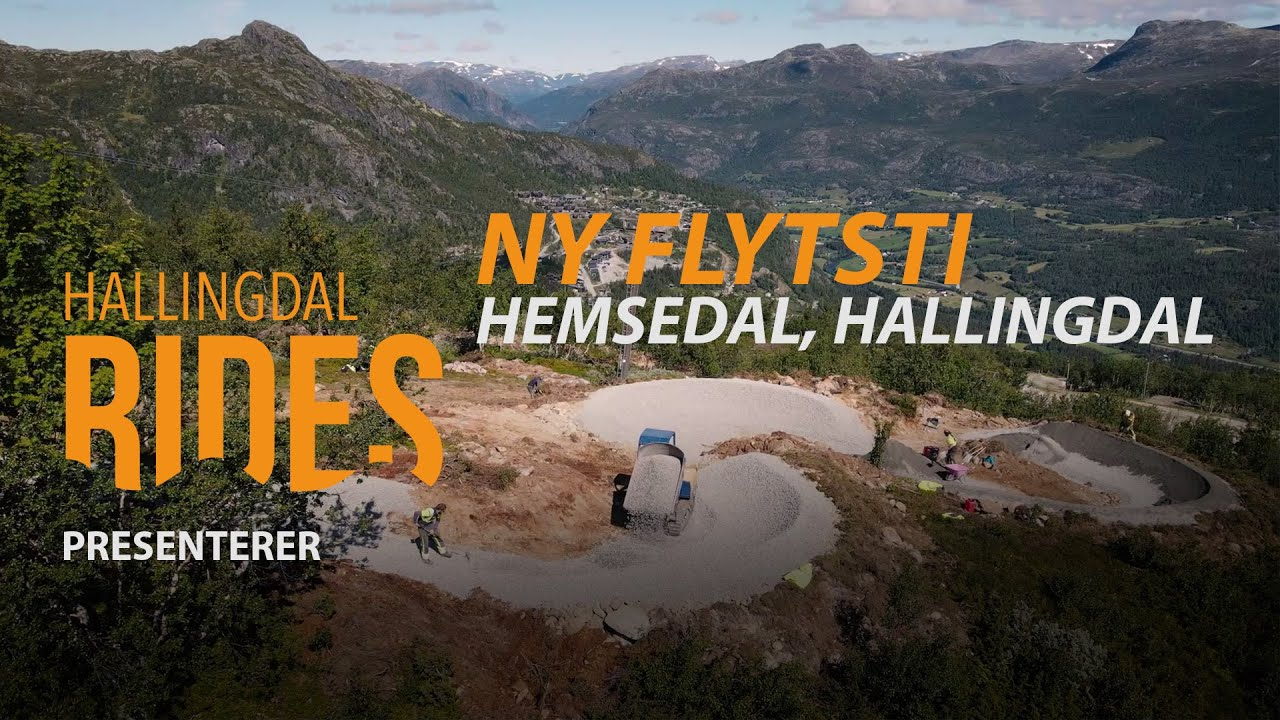 Splitter ny flytsti i Hemsedal under bygging