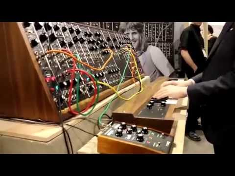 NAMM 2015 - MOOG - The Coolest Synth Ever Made