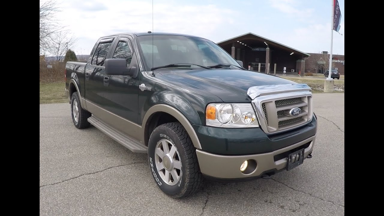 Ford F-150 King Ranch >> 2006 Ford F 150 Super Crew King Ranch 4X4| Martinsville ...
