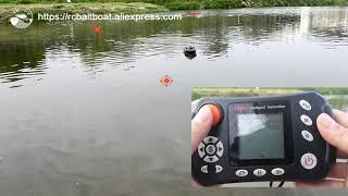 2AG  mid size JABO-2ag gps AUTOPILOT RC fishing bait boat