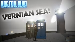 TARDIS AT VERNIAN SEA! (RETURN TO BABBAGE) | Doctor Who Second Life Adventures | The Saturday Geeks