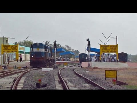 First Day First Show : Palani - Pollachi Broad Gauge Trains ( LONGER VERSION )