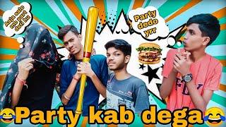 PARTY KAB DEGA 🤣    Best video Tutorial    VVR Vines