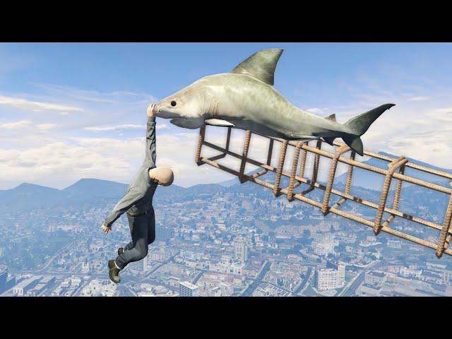 GTA 5 Epic ragdolls episode 98 [Funny moments]