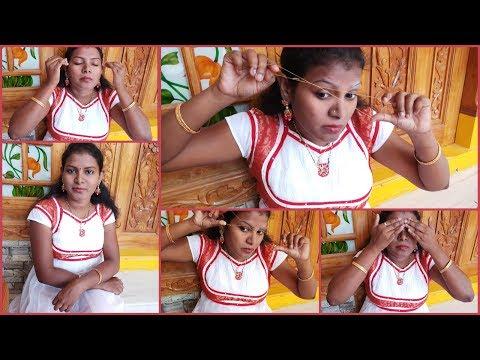 #DIY#How to Do Eyebrow Threading at Home In Telugu/How to Shape your Eyebrow # Home/Eyebrow tutorial