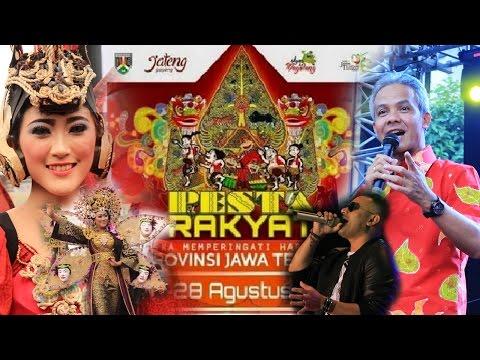Opening Pesta Rakyat Provinsi Jawa Tengah 2016 Full HD 1080p