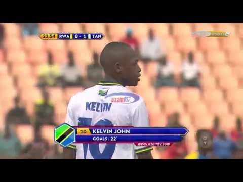 Magoli matamu ya Serengeti Boys ikiichapa Rwanda 4-0;  (CECAFA U17 AFCON QUALIFIER)