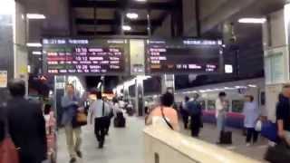 【乗換】東海道新幹線から東北新幹線の乗換方法(How to transfer from Tokaido Shinkansen to Tohoku Shinkansen)