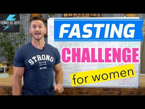 30 Day Women's Intermittent Fasting Challenge (Full Meal Plan & Guide)