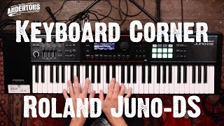 Keyboard Corner - Roland Juno DS