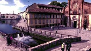 Adriano Celentano e la Darsena di Milano