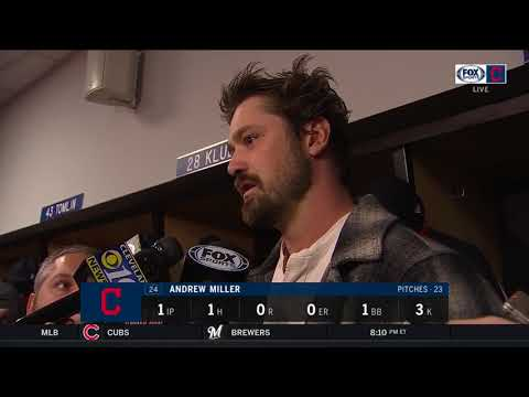 Andrew Miller on what it means to have Michael Brantley back for Indians