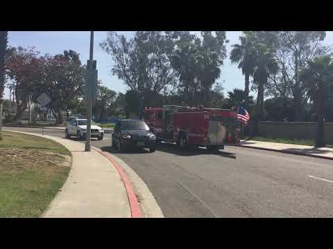Long Beach Fire Engine 22 Responding