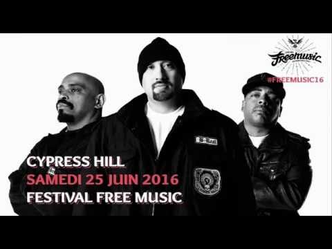 Cypress Hill Free Music Festival 2016